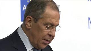 Брифинг Сергея Лаврова для представителей Ассоциации европейского бизнеса. Прямая трансляция