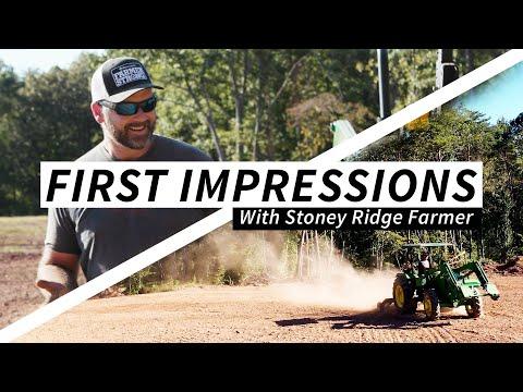 First Impressions with Stoney Ridge Farmer – TR3 Rake