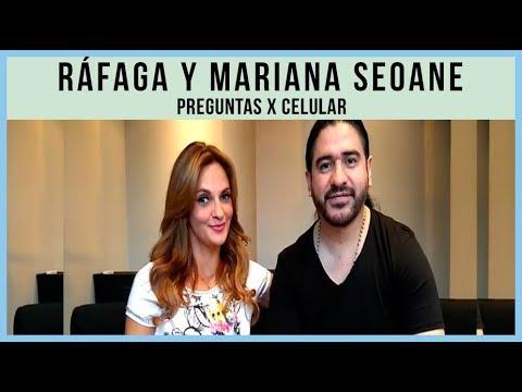 Ráfaga video Ráfaga y Mariana Seoane  - Preguntas x celular