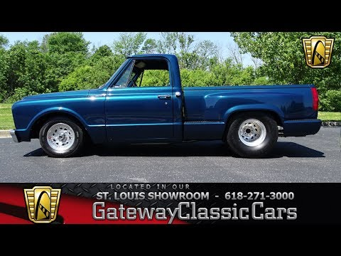 Video of Classic '67 Chevrolet C10 located in O'Fallon Illinois - $19,995.00 Offered by Gateway Classic Cars - St. Louis - LV0B