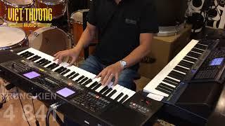 Casio MZ-X500 & Roland E-A7 | DiscoLive Trung Kien Style