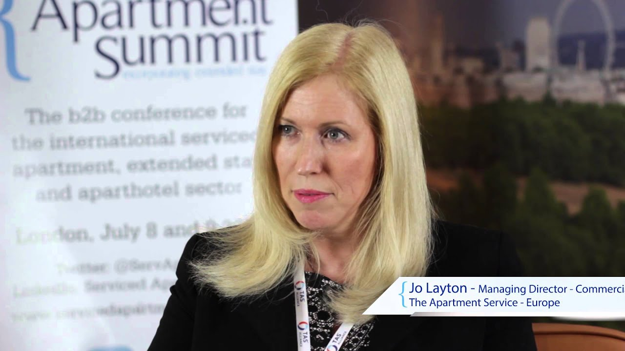 Serviced Apartment Summit interviews: Jo Layton, TAS Alliance/The Apartment Service
