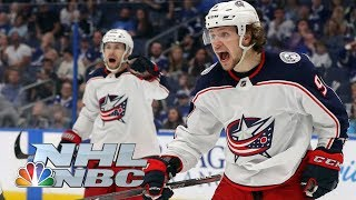 NHL Stanley Cup Playoffs 2019: Blue Jackets vs. Lightning | Game 2 Highlights | NBC Sports