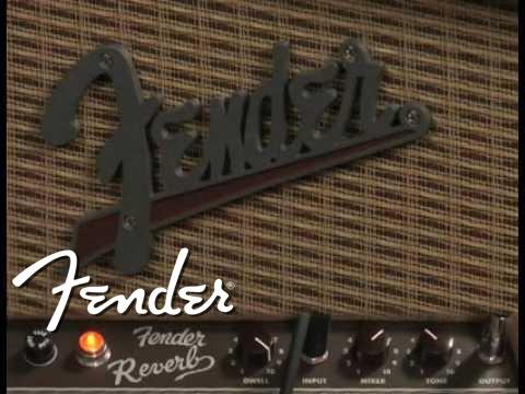 FENDER 63 Fender Tube Reverb Brown Lampový reverb
