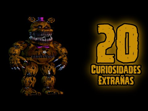 TOP 20: 20 Curiosidades Extrañas De Nightmare Fredbear En Five Nights At Freddy's 4 | FNAF 4