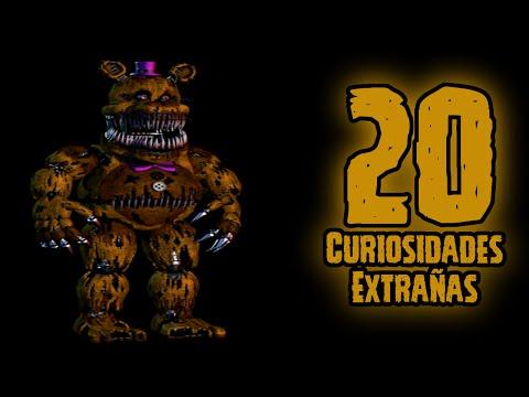 TOP 20: 20 Curiosidades Extrañas De Nightmare Fredbear En Five Nights At Freddy's 4 | FNAF 4