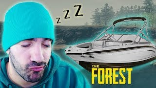 DORMIMOS EN UN YATE DE LUJO ⭐️ The Forest #11 | iTownGamePlay