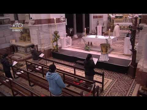 Laudes et Messe du 20 avril 2021 à Notre-Dame de la Garde