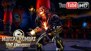 Mortal Kombat VS DC Universe [Xbox 360] - ✪ Superman Vs Dark Kahn ✪ | Full HD