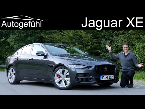 Jaguar XE FULL REVIEW P250 Facelift 2020 - Autogefühl