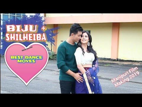 Shilheiba & Biju   Manipuri Latest Film 2019   Manipuri Song Making