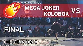 💪 POWERTRICKS BATTLE - Mega Joker Vs Kolobok | FINAL | COMBONATION 8 | DAY 2 - #combonation8
