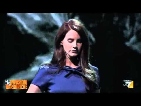 LANA DEL REY - BLUE JEANS - live in Italy