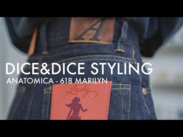 ANATOMICA - WOMEN'S 618 MARILYN | Dice&Dice styling