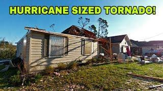 HURRICANE that destroyed Florida's panhandle!  Unreal damage!