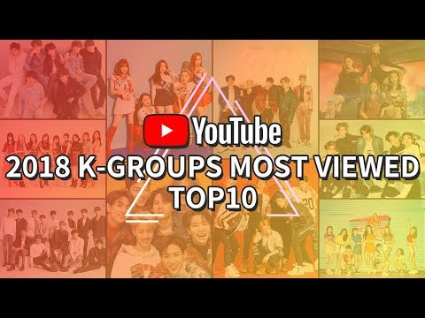 [TOP 10] K-POP GROUPS TOTAL VIEWS ON YOUTUBE IN 2018