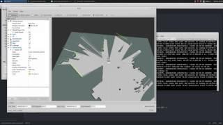 Hector slam test(ROS + YDLIDAR X4 + Raspberry pi 3 B+) - ranbo0311
