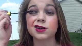 My Everyday School Makeup, Hair, and Outfit! - Video Youtube