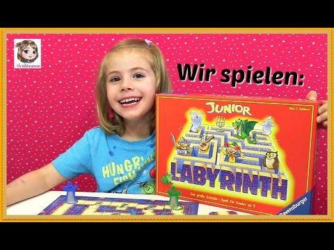 JUNIOR LABYRINTH - Das große Schieben der kleinen Geister - Kinderspiel | Ravensburger