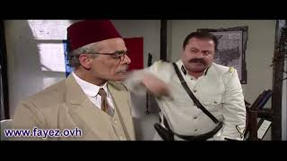باب الحارة - أبو جودت يشك بإنو أكيد مأمون بيك وراه سر كبير ! فايز قزق وجمال قبش وزهير رمضان