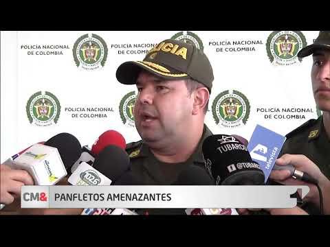 Panfleto amenaza a presuntos delincuentes en Soledad, Atlantico