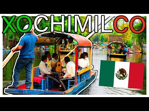XOCHIMILCO Boat Ride | Mexico City: The Ultimate Workout Experience