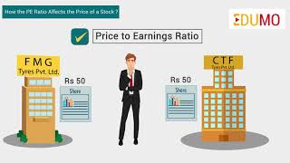 How does PE ratio affect the value of stocks?