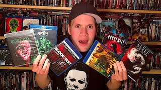 All Horror Blu-ray/Dvd Collection Update : Blu-ray and Dvd Movie Reviews