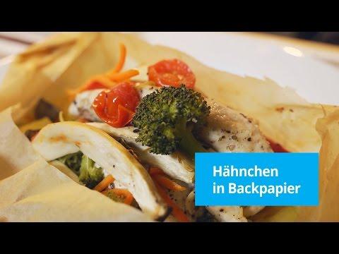 Rezept: Hähnchen in Backpapier