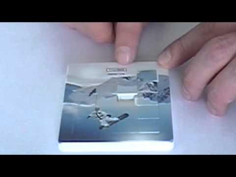 Nettes und klassisches Schiebepuzzle