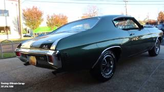 70 Chevelle SS454 for sale with test drive, driving sounds, and walk through video