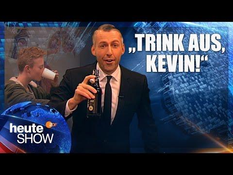 Wie damit der Mann zu handeln hat geworfen, zu trinken