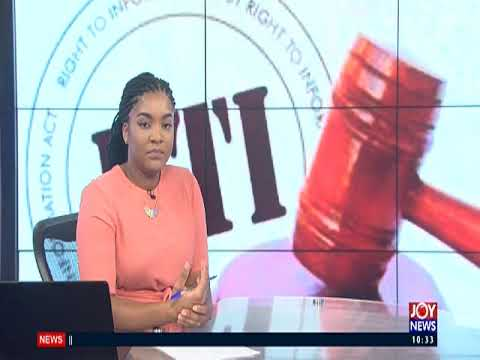 RTI Implementation - News Desk on JoyNews (21-5-19)