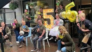 Brownies&Downies uit Waalwijk blij met aandacht van SBS6-programma