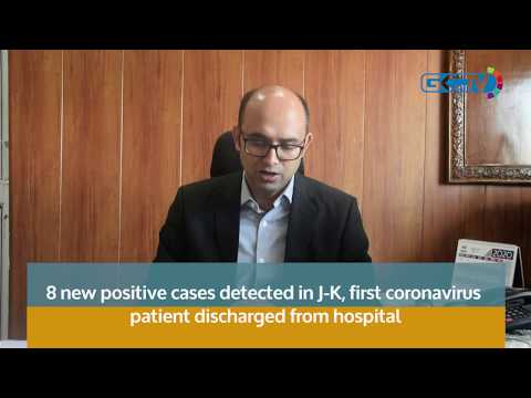 8 new positive cases detected in J-K, first coronavirus patient discharged from hospital