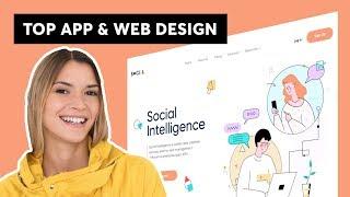 TOP 10  BEST UI/UX! App & Web Design Inspiration