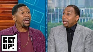 Stephen A. and Jalen Rose disagree on who to blame for Falcons' loss vs. Eagles | Get Up! | ESPN