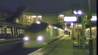 preview picture of video 'Eurostar Trains At Twilight'