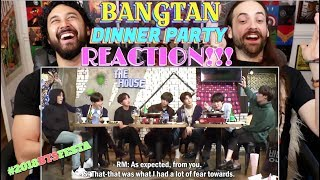 BTS (방탄소년단) 'Bangtan Dinner Party' #2018BTSFESTA   REACTION!!!