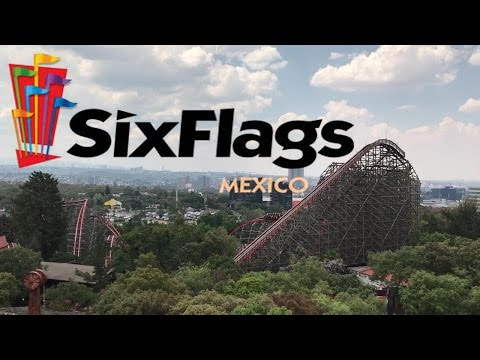 Six Flags Mexico 2017 Tour & Review with Hyde