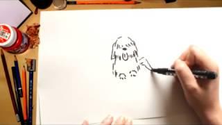 Como desenhar um cachorro - desenhos para crianças