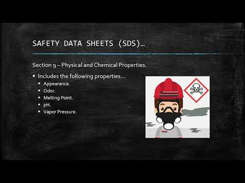 Toolbox Talks - Hazard Communication - Safety Data Sheets