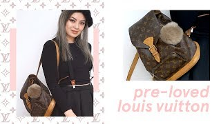 Tokyo Second Hand Designer Shops ✨ My First Pre-Loved Louis Vuitton Bag (Montsouris) In Japan