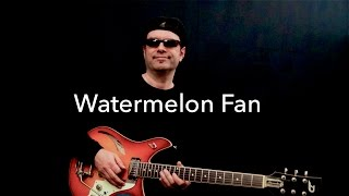 Watermelon Fan - Funky Jazz Improvisation - Achim Kohl - with Tabs