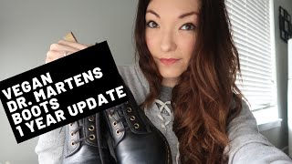 1 Year After: Vegan Dr. Martens Boots Update | Diana Kitsune