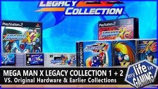 Mega Man X Legacy Collection (PS4) VS. Originals & X Collection :: Game Showcase