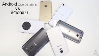 iPhone 6 Vs los mejores teléfonos: samsung s5, Sony z3, LG G3, Lumia 930 y Htc m8