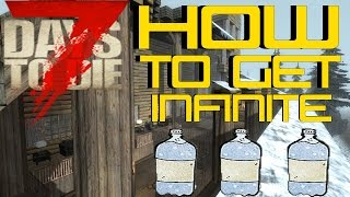 7 Days To Die - How To Get Infinite Water!!!
