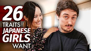 26 Traits Japanese Girls Want in a Guy