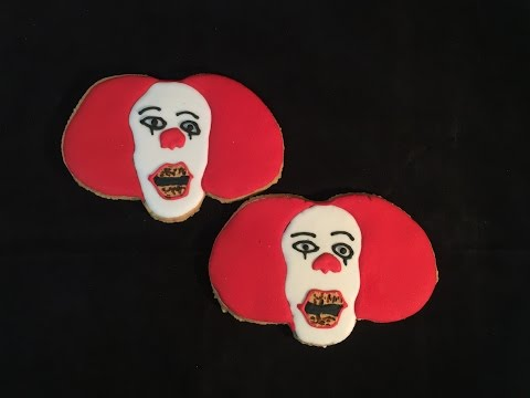 Pennywise the Clown  Cookies From Stephen King's Movie It